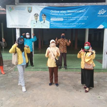 Penyemrpotan Desinfectan Bersama Dengan Mahasiswa UNNES
